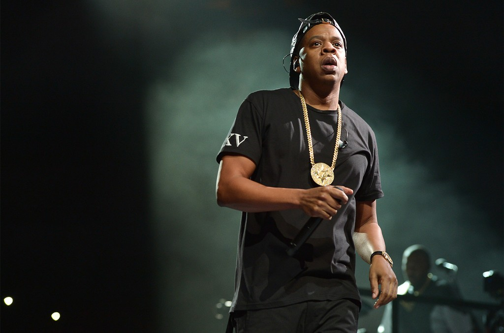 Jay Z performs on stage at Air Canada Centre during his Magna Carter World Tour on Jan. 27, 2014 in Toronto, Canada.