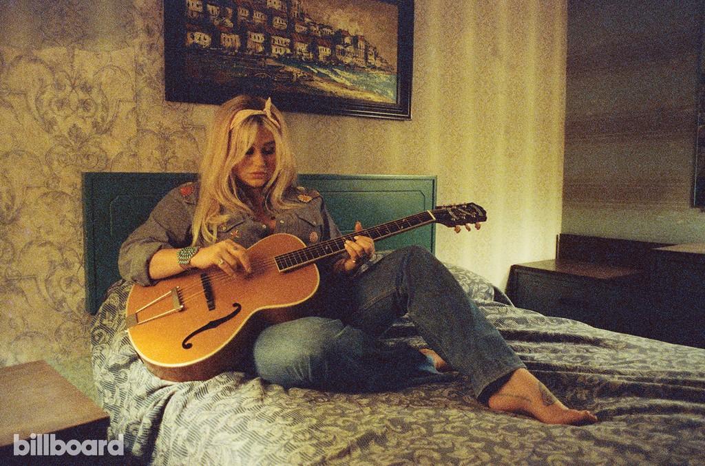 Kesha photographed on Nov. 21, 2016 at Harvard House Motel in Los Angeles.