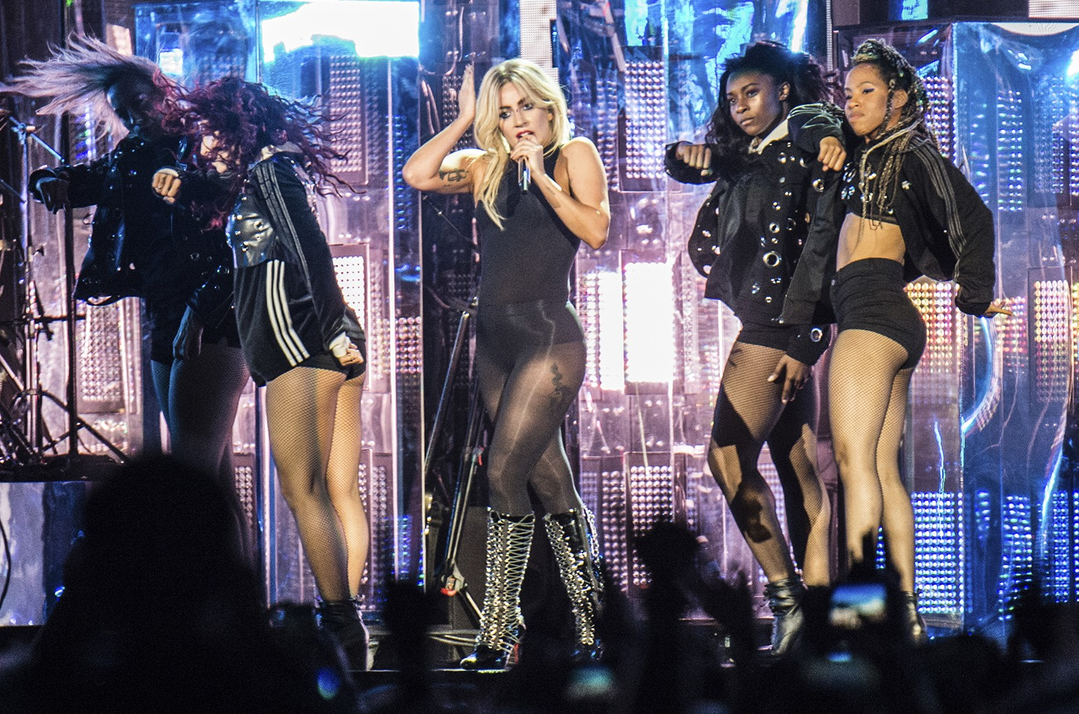 Lady Gaga performs at Coachella Music & Arts Festival at the Empire Polo Club on April 15, 2017 in Indio, Calif.