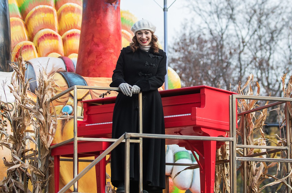Regina Spektor attends the 90th Annual Macy's Thanksgiving Day Parade on Nov. 24, 2016 in New York City.