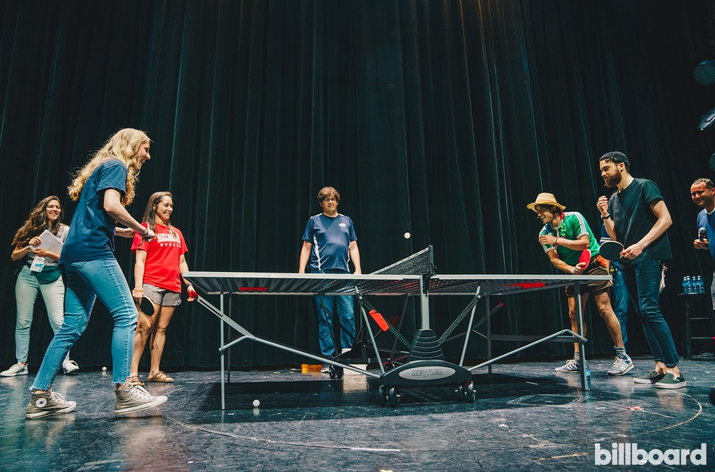 Ping Pong Competition With Zac Farro & Taylor York