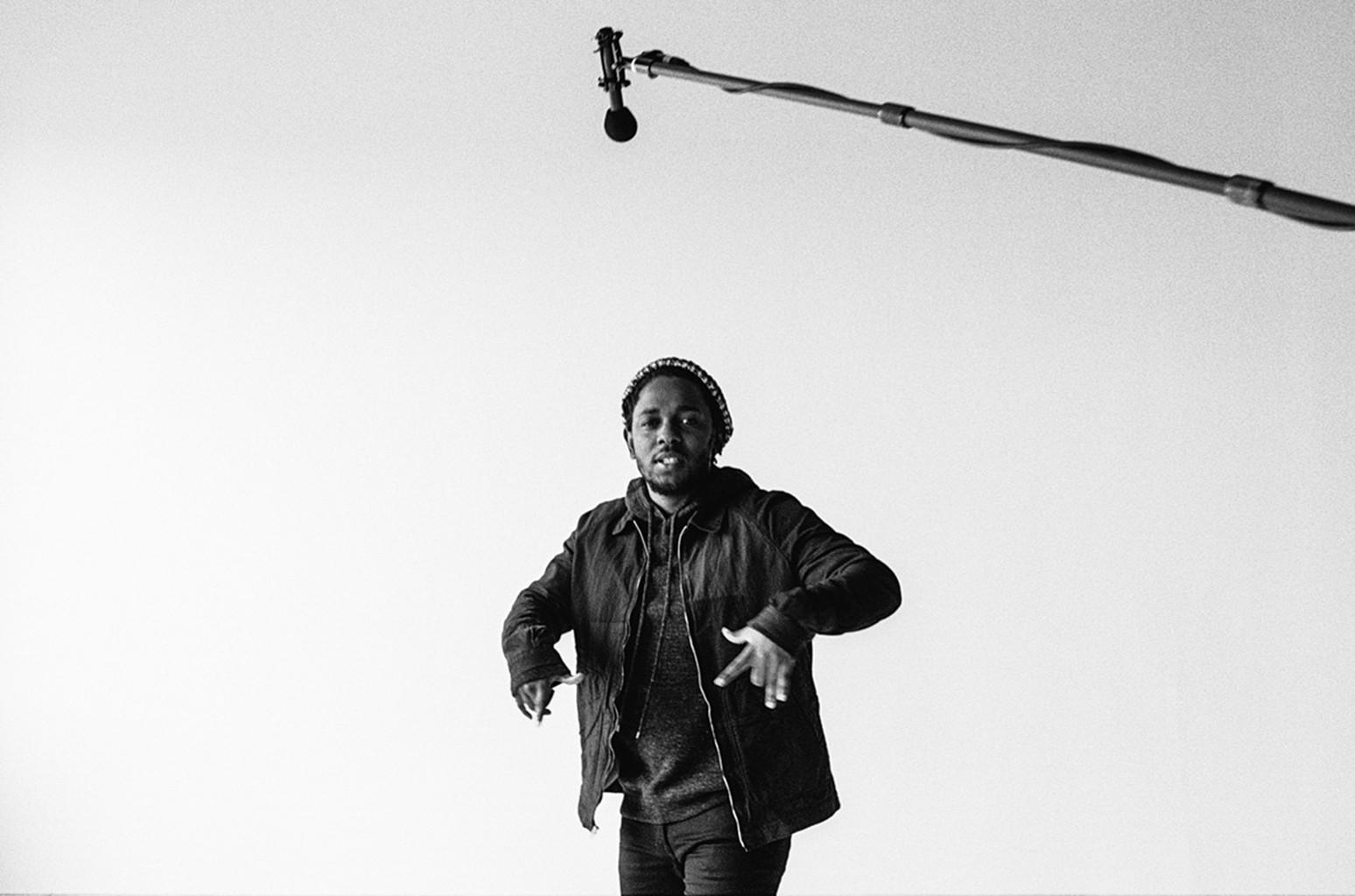 Kendrick Lamar photographed by Nabil Elderkin.