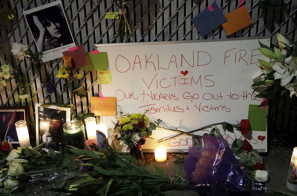 memorial in oakland california