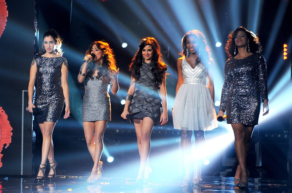 "Fifth Harmony performs onstage at FOX's ""The X Factor"" Season 2 Top 3 Live Performance Show on Dec. 19, 2012 in Hollywood, Calif."