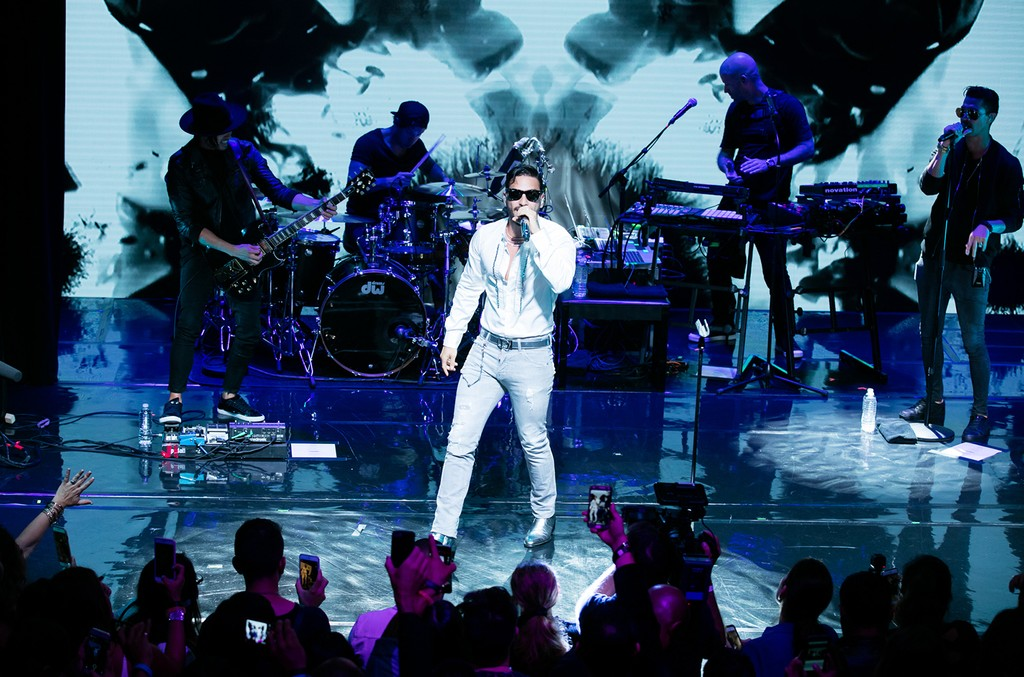 Maluma performs as part of Billboard En Vivo at the Billboard Latin Music Conference in Miami on April 26, 2017.