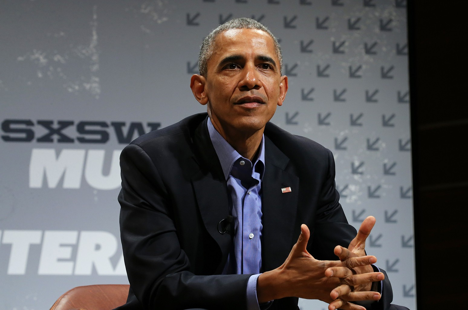 Barack Obama speaks at the opening Keynote during the 2016 SXSW Music, Film + Interactive Festival at Long Center on March 11, 2016 in Austin, Texas.