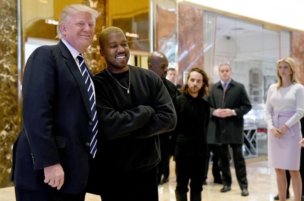 Kanye West Donald Trump