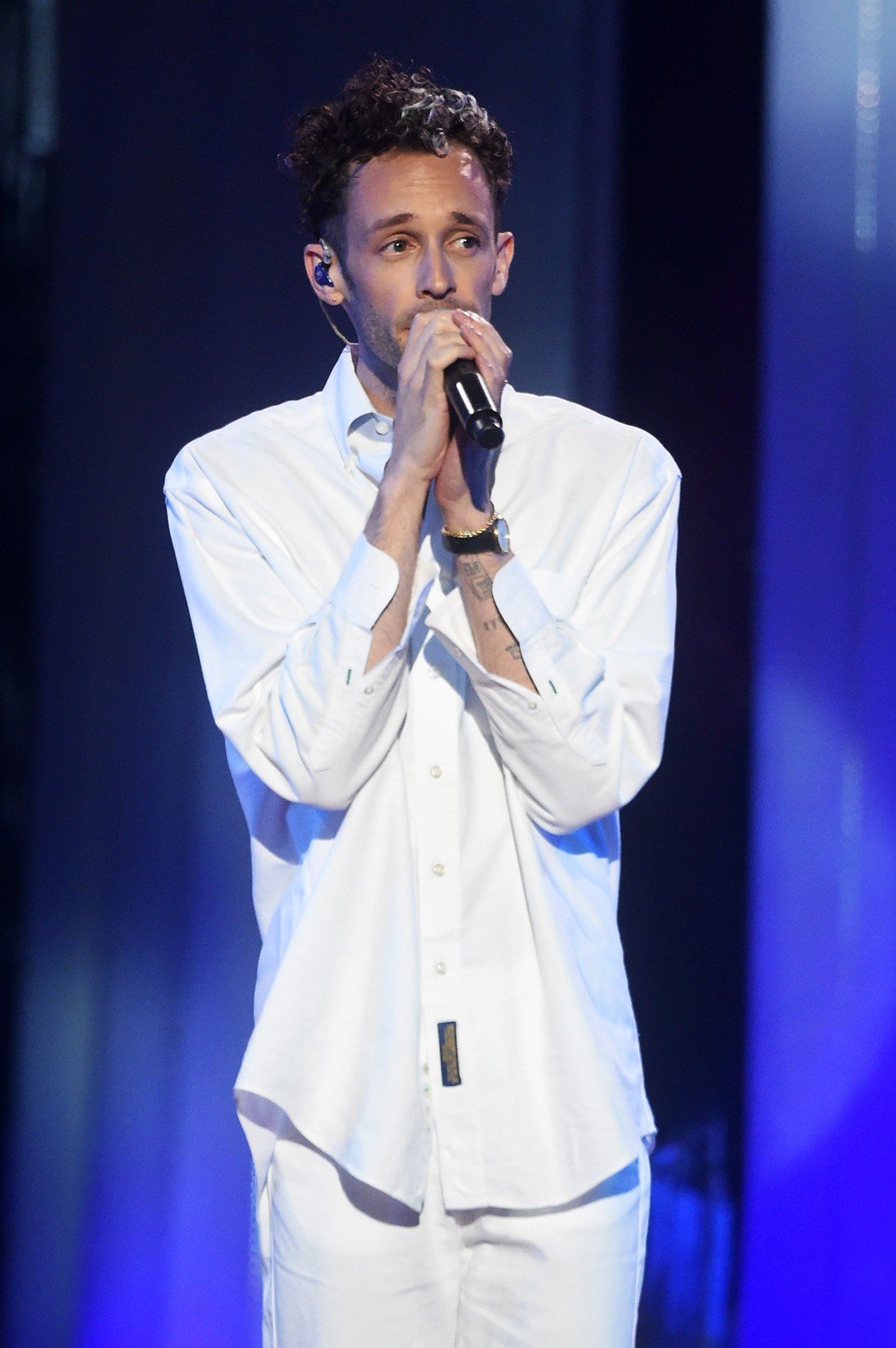 Wrabel performs onstage at the Logo's 2017 Trailblazer Honors event at Cathedral of St. John the Divine on June 22, 2017 in New York City.