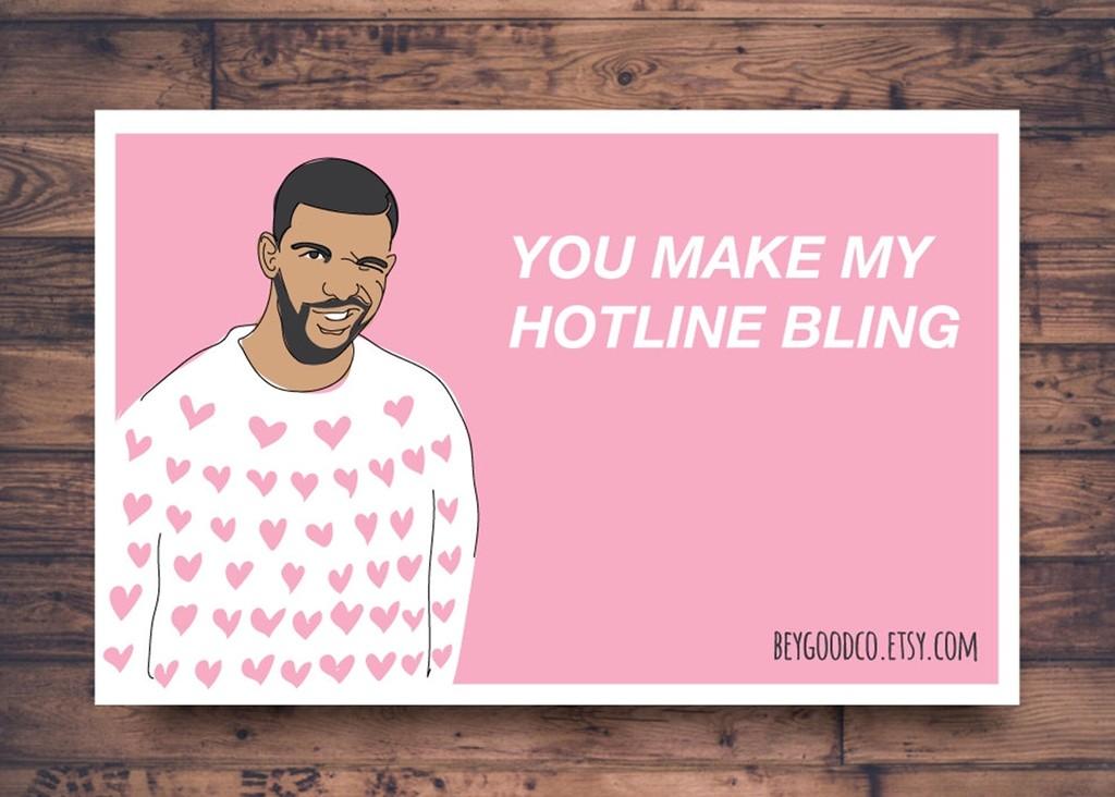 Drake — You make my Hotline Bling