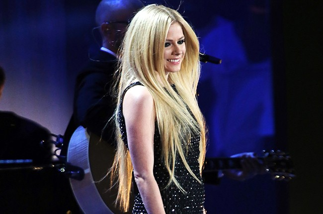 Avril Lavigne attends the opening ceremony of the Special Olympics World Games Los Angeles 2015