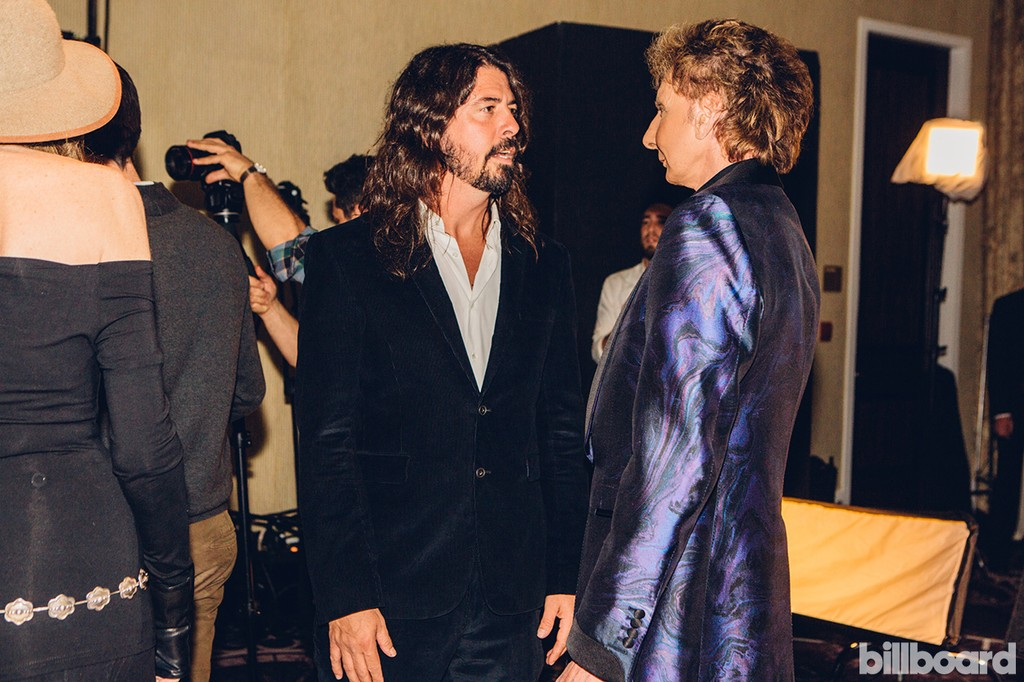 Dave Grohl & Barry Manilow