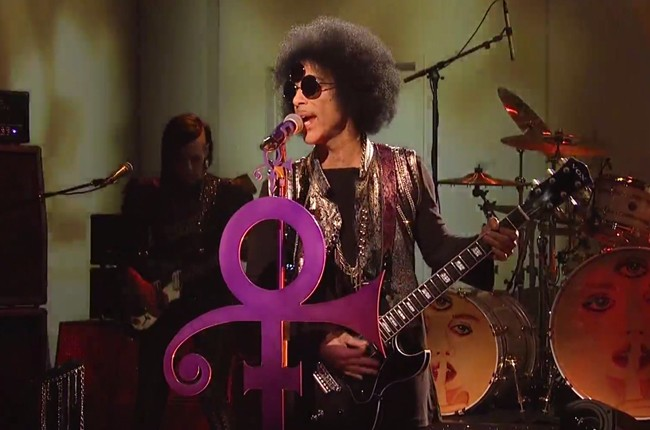 Prince tribute on 'Saturday Night Live' on April 23, 2016.