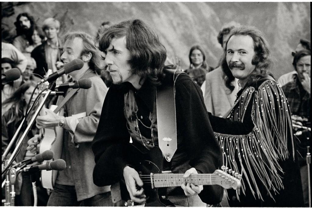 Crosby, Stills & Nash, Big Sur Folk Festival, Big Sur, California, 1969