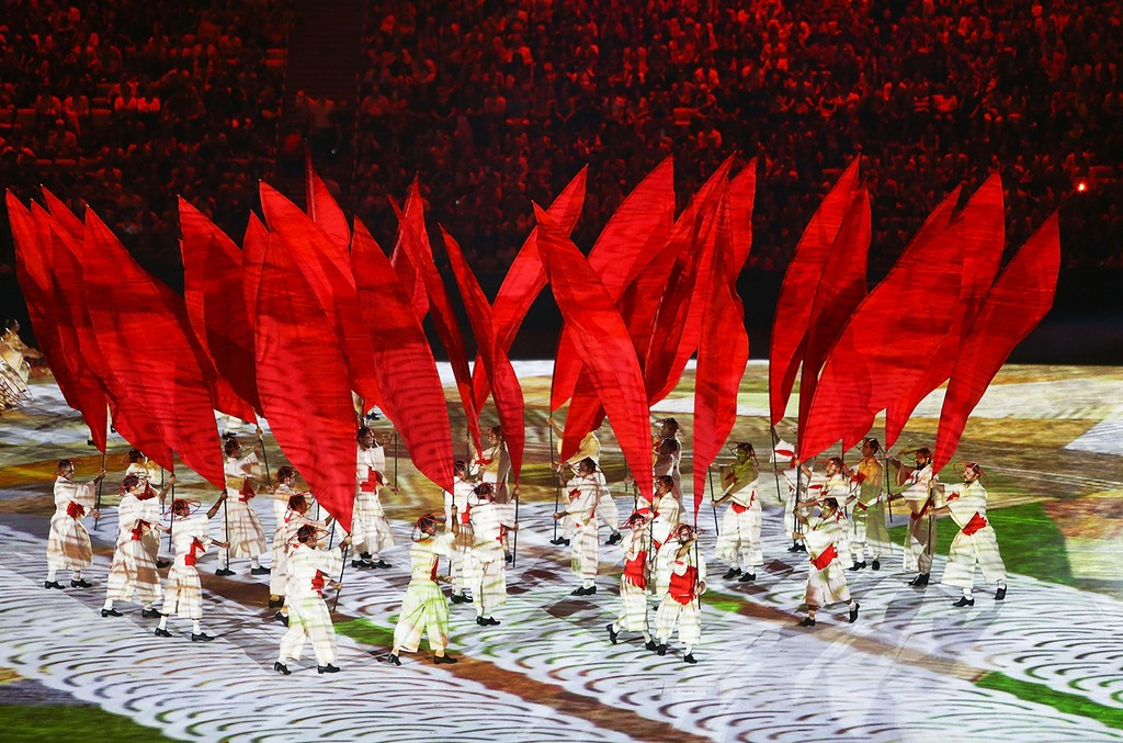 Opening Ceremony of the Rio 2016 Olympic Games