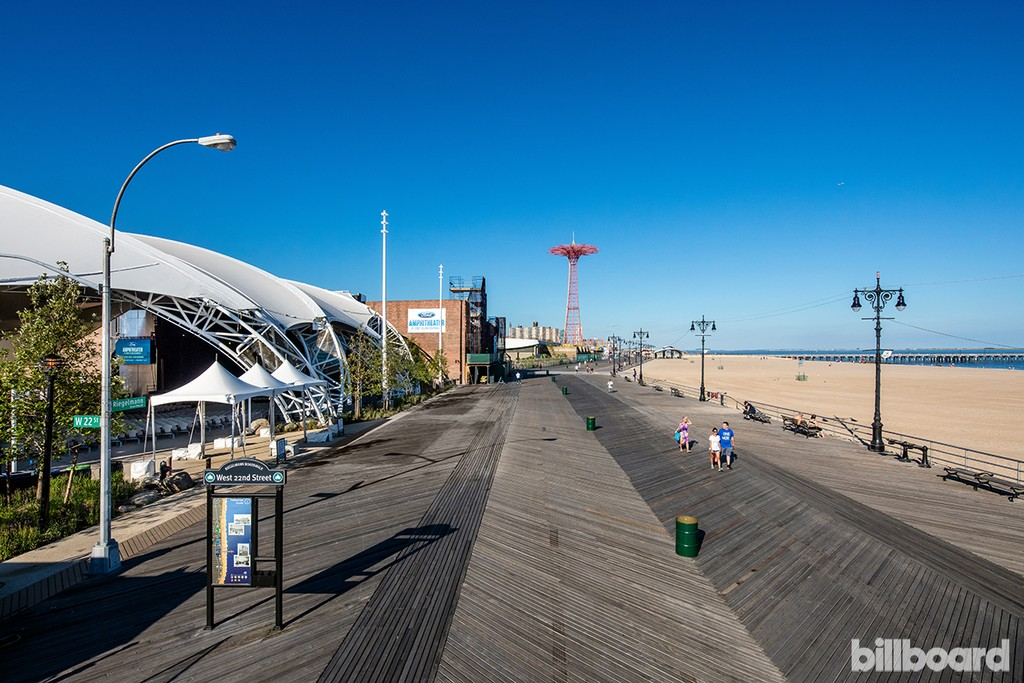 The Amphitheater at Coney Island photographed on July 5, 2016.