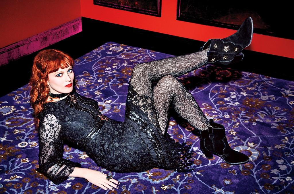Karen Elson for Anna Sui X Inc.