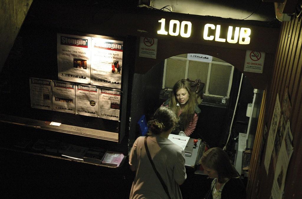100 Club in London.