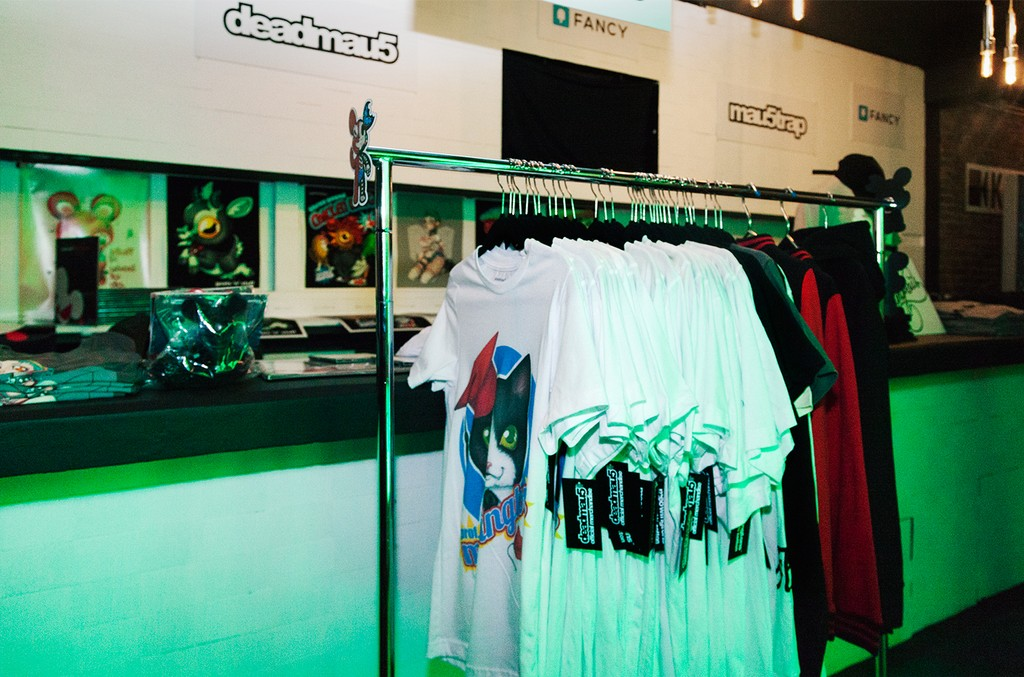 'Lost of Stuff in a Store' Deadmau5 pop-up shop on March 31, 2017 in New York City.