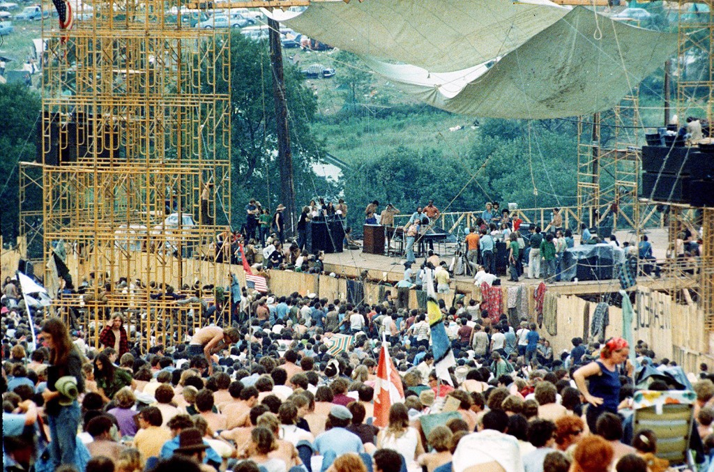 Woodstock Festival of Arts and Music at Bethel, New York, August 1969