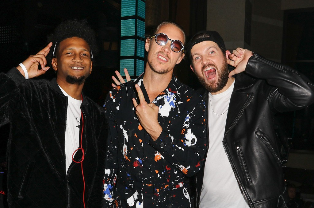 Happy Colors, Diplo and Dillon Francis