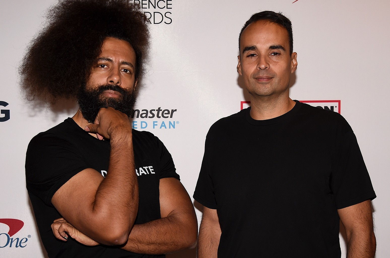 Reggie Watts and John Tejada