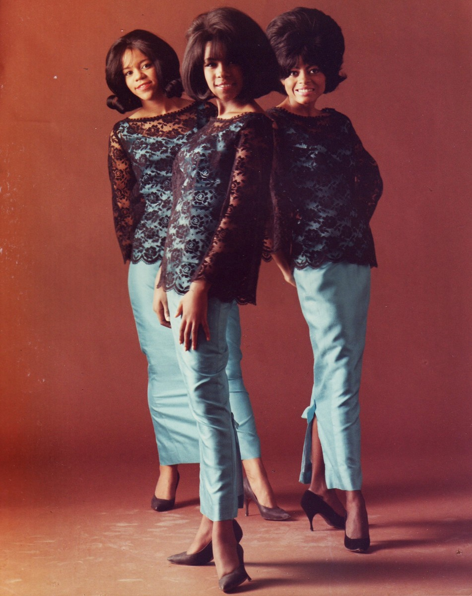 The Supremes photographed in 1964.