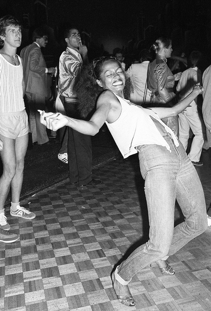 Diana Ross at Studio 54 in New York City in 1979.