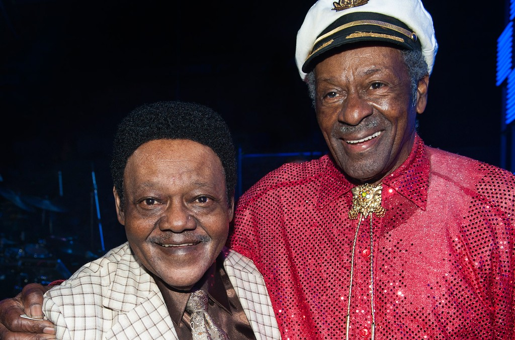 Fats Domino and Chuck Berry