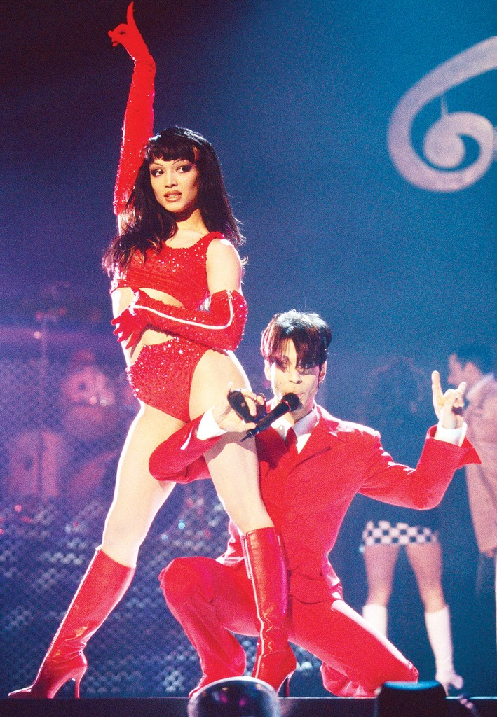 Mayte Garcia and Prince