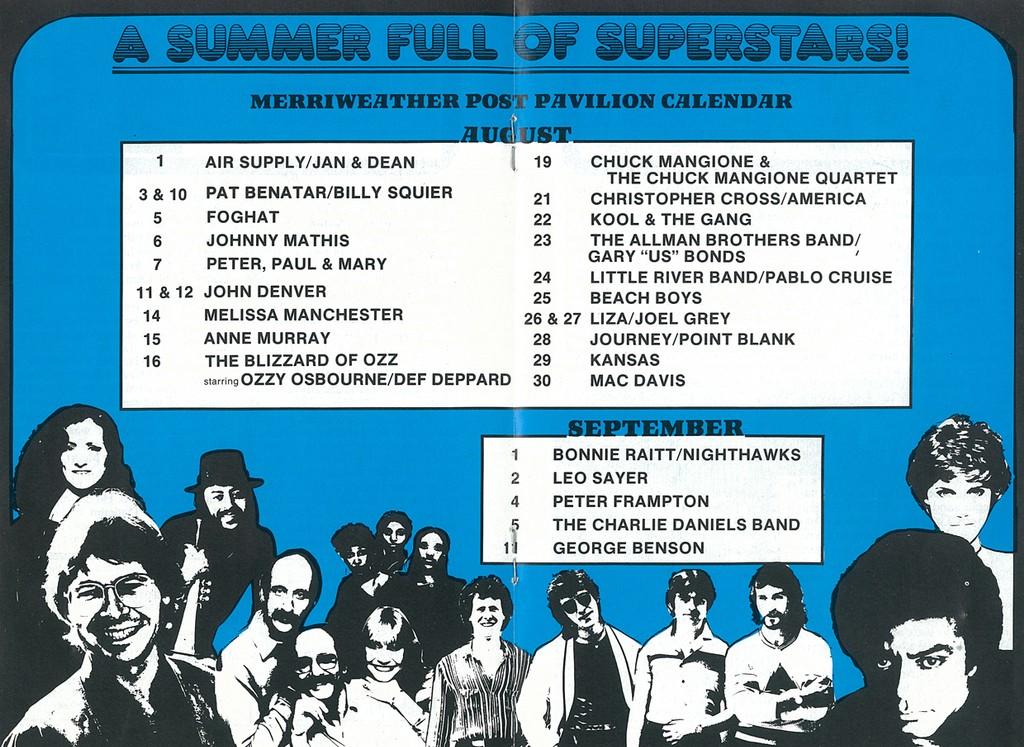 1981 Schedule