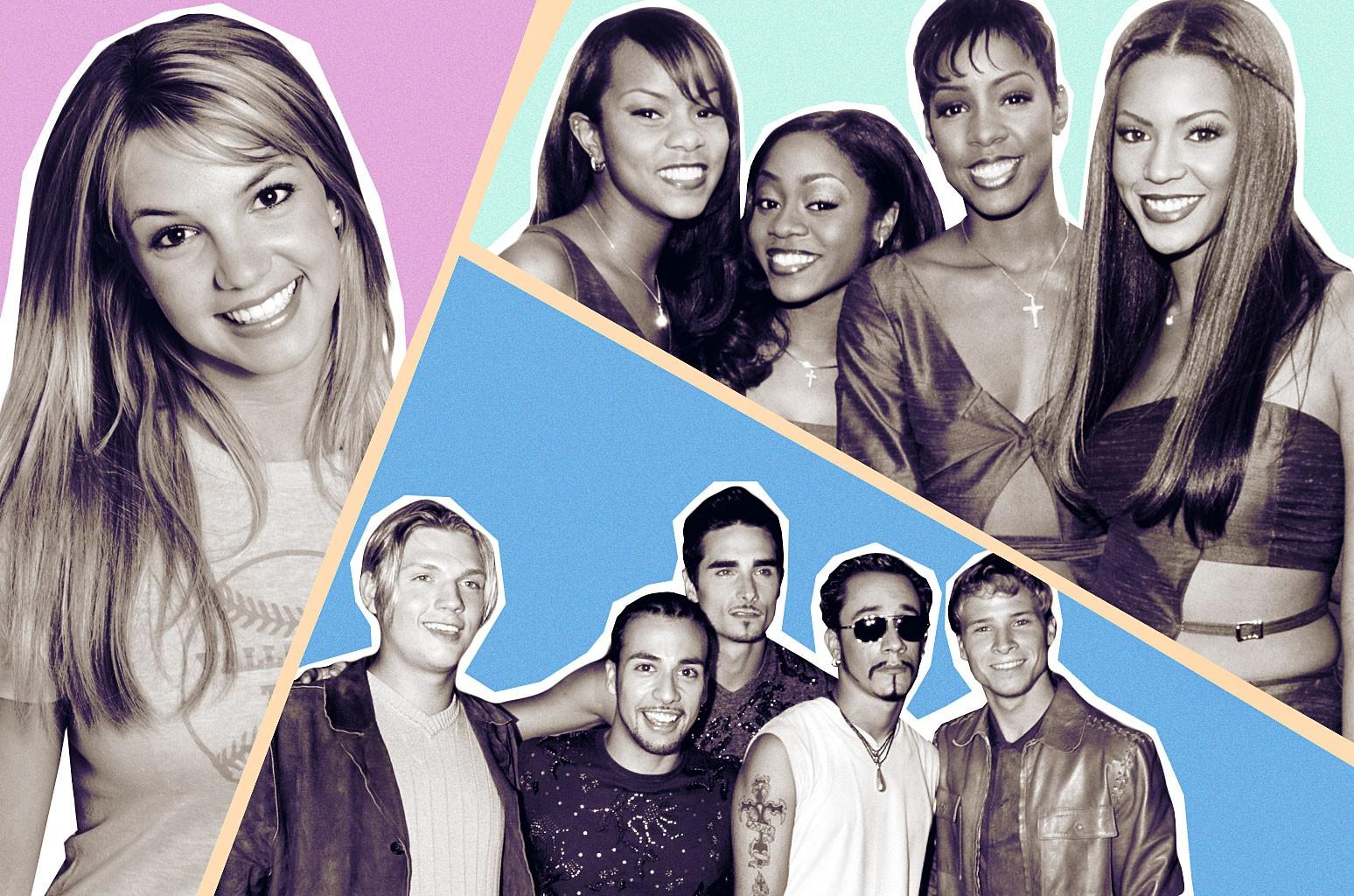 Britney Spears, Destiny's Child and Backstreet Boys