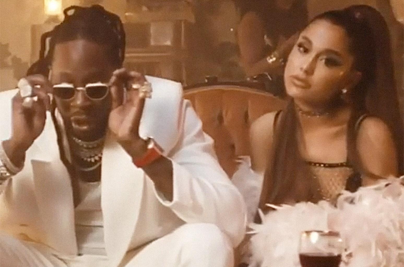 2 Chainz and Ariana Grander