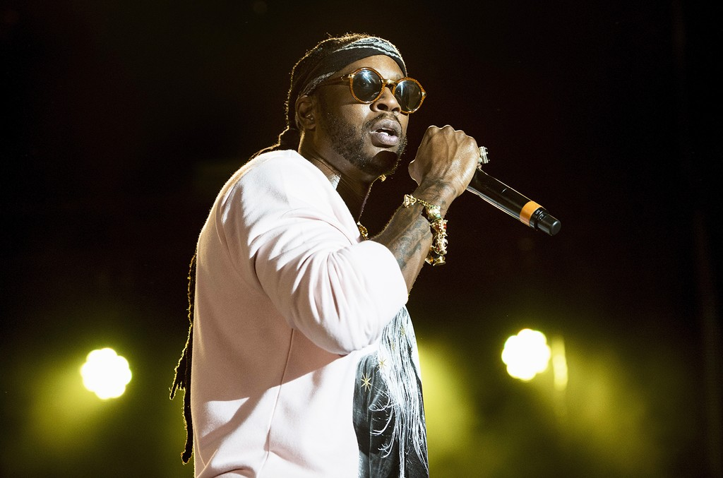 2 Chainz performs at Champions Square on Aug. 27, 2016 in New Orleans.