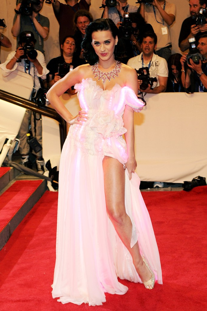 Katy Perry attends the Costume Institute Gala