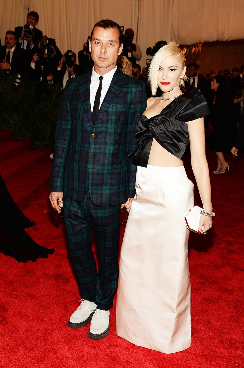 """Gavin Rossdale and Gwen Stefani attend the Costume Institute Gala for the """"PUNK: Chaos to Couture"""""""