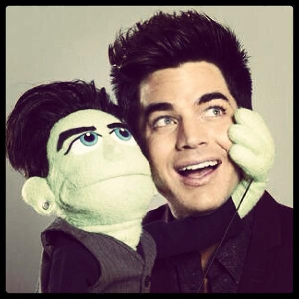 2013nov21-adam-lambert-glee-puppet-600