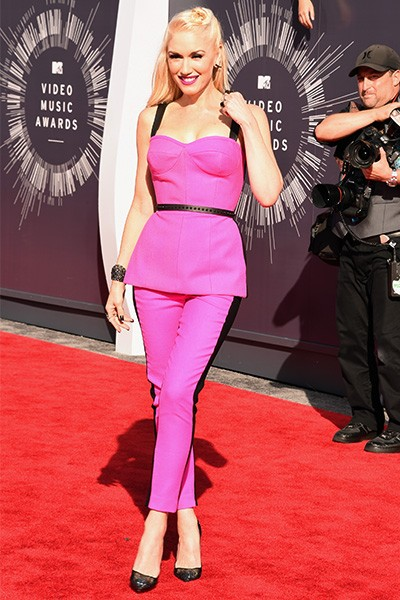 Gwen Stefani arrives at the 2014 VMAs