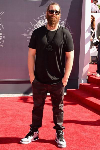 Harley Morenstein at the 2014 VMAs