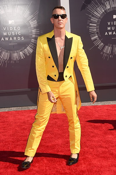 Jeremy Scott at the 2014 VMAs