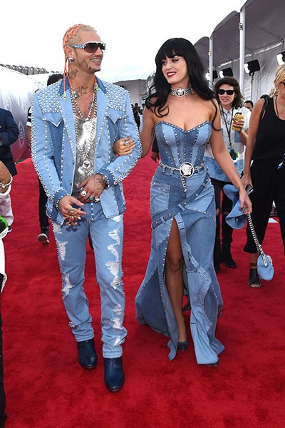 Riff Raff and Katy Perry, VMAs 2014.
