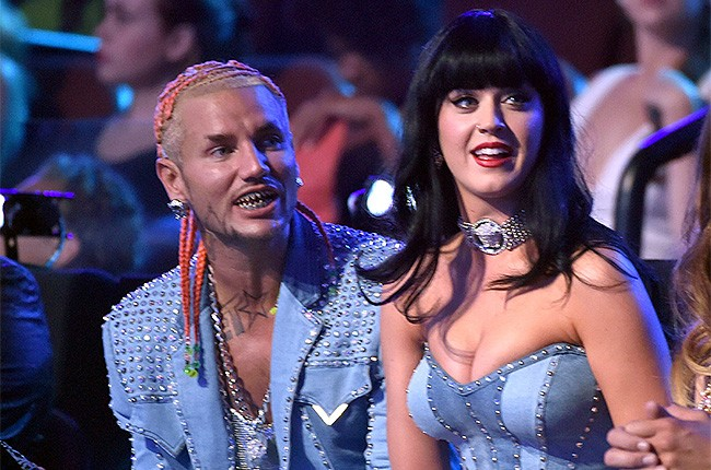 Riff Raff and Katy Perry at the 2014 VMAs