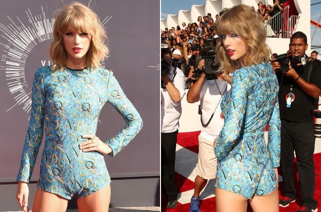 Taylor Swift at the 2014 VMAs
