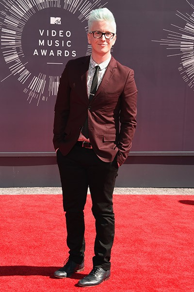 Tyler Oakley on the VMAs Red Carpet