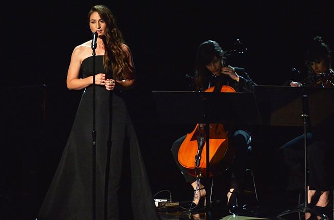 Sara Bareilles, 2014 Emmy Awards