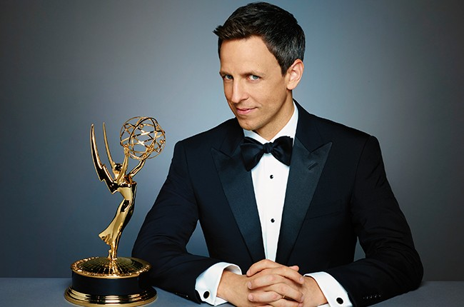 Seth Meyers, 2014 Emmy Awards.