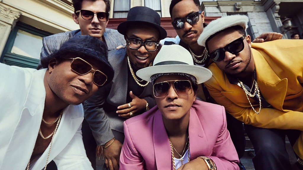 Mark Ronson 'Uptown Funk' from 2015