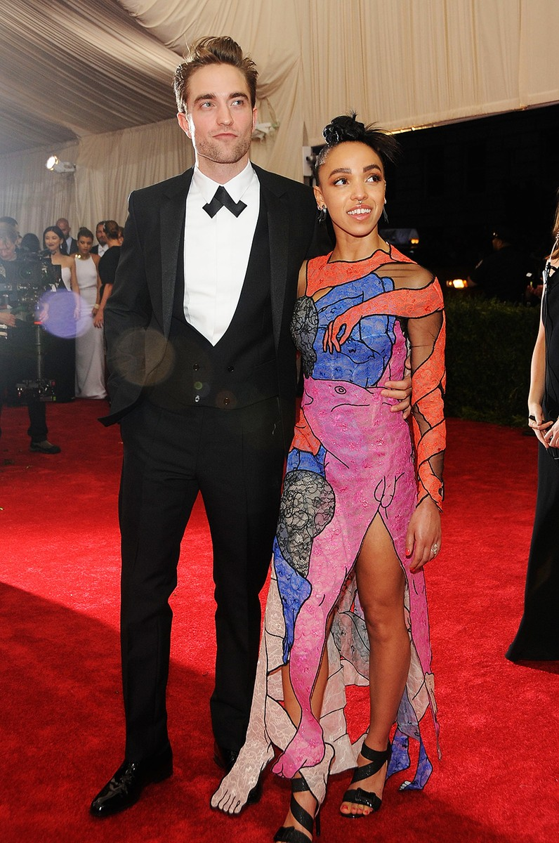 """Robert Pattinson and FKA twigs arrives at """"China: Through The Looking Glass"""" Costume Institute Benefit Gala"""
