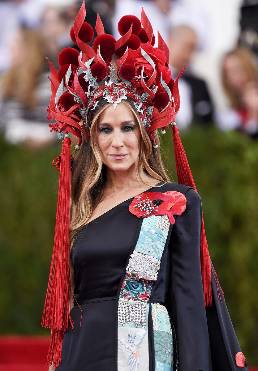 Sarah Jessica Parker attends the 'China: Through The Looking Glass' Costume Institute Benefit Gala