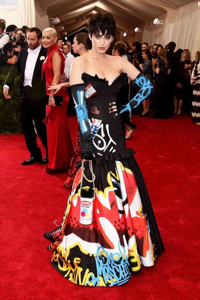 """Katy Perry attends the """"China: Through The Looking Glass"""" Costume Institute Benefit Gala"""