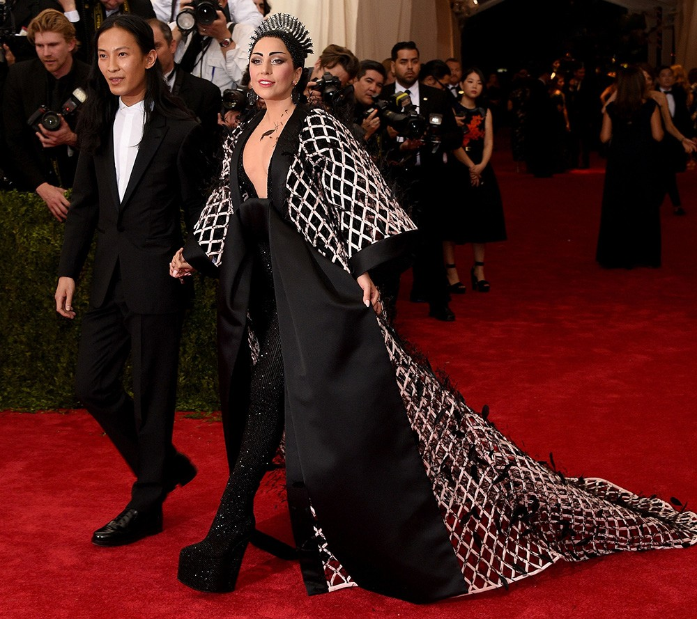 """Alexander Wang and Lady Gaga attend the """"China: Through The Looking Glass"""" Costume Institute Benefit Gala"""